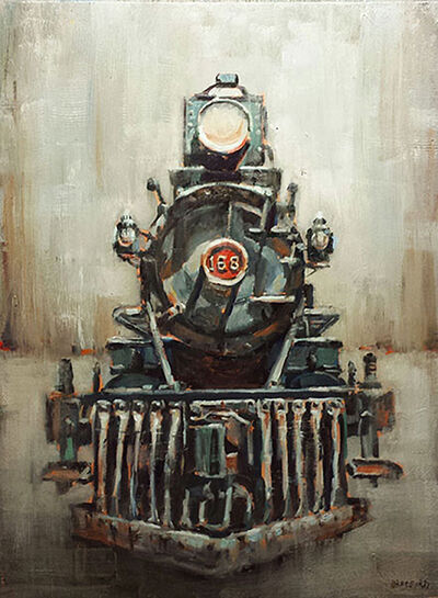 Bradford J. Salamon, '168 Train', 2017
