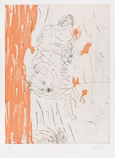 """Georg Baselitz, 'Samson, from """"Schlafende Hunde""""', 1998-1999"""