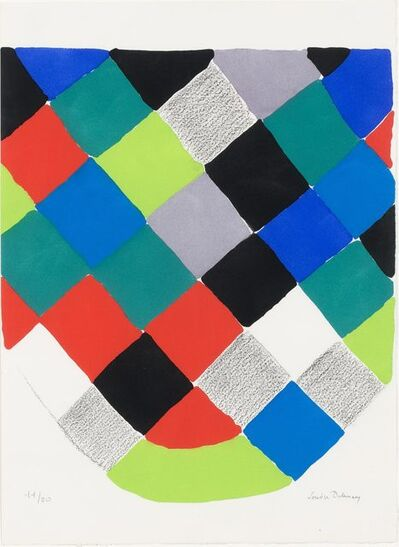 Sonia Delaunay, 'COMPOSITION', 1973