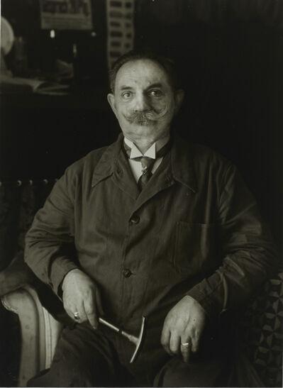 August Sander, 'II/8/17 Master Upholsterer, Berlin', 1929