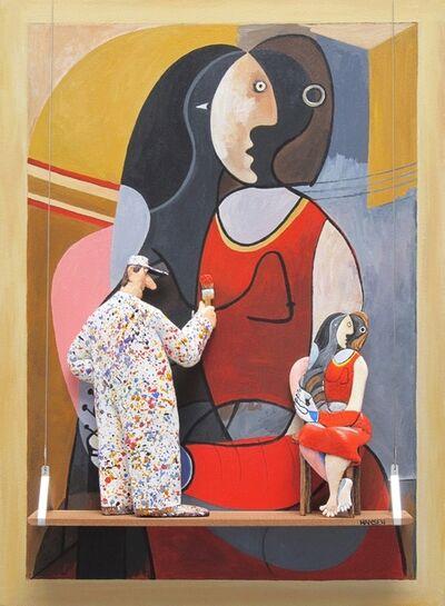 Stephen Hansen, 'Seated Woman, 1927: Picasso'