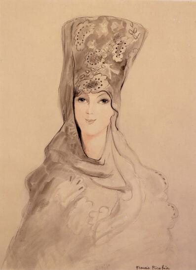 """Francis Picabia, '""""Espagnole""""', ca. 1923-1927"""