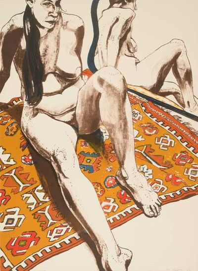 Philip Pearlstein, 'Six Lithographs Drawn from Life (complete portfolio of 6)', 1970
