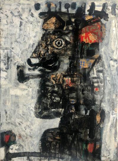 Antoni Clavé, 'Roi à la pipe', 1957