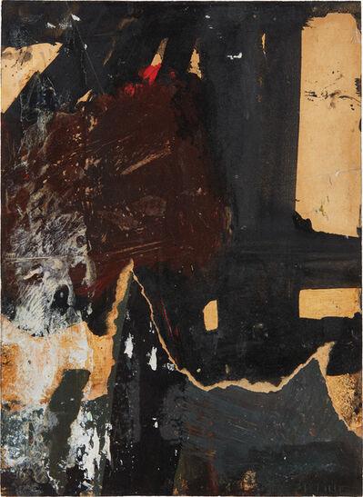 Franz Kline, 'Black, White, Brown', 1959-1960