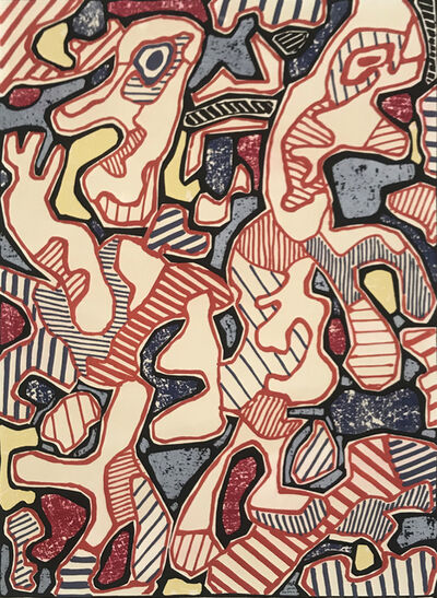 Jean Dubuffet, 'Hustle and Bustle | Affairements', 1964