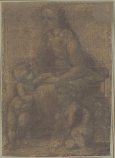 Raphael, 'The Madonna and Child with Saint John the Baptist', ca. 1507