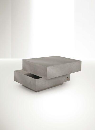 Gabriella Crespi, 'a Scultura low table in the rare version with a drawer', 1970 ca.