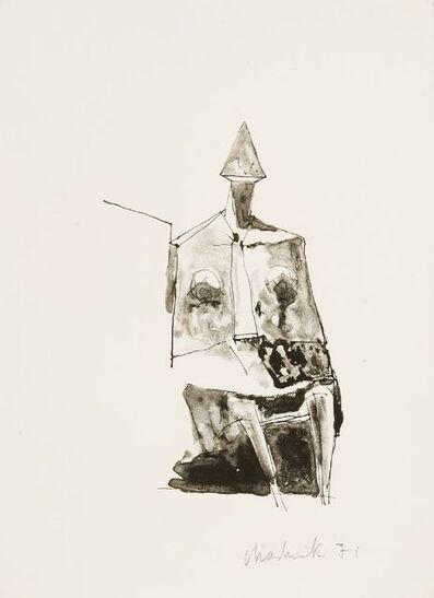 Lynn Chadwick, 'Seated Figure', 1971