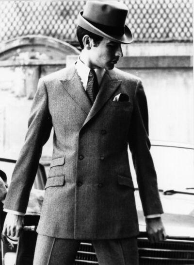 Bill Cunningham, 'Model for Pierre Cardin, Paris', ca. 1960s