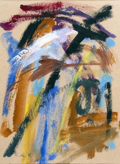Elaine de Kooning, 'Untitled', circa 1956-1959