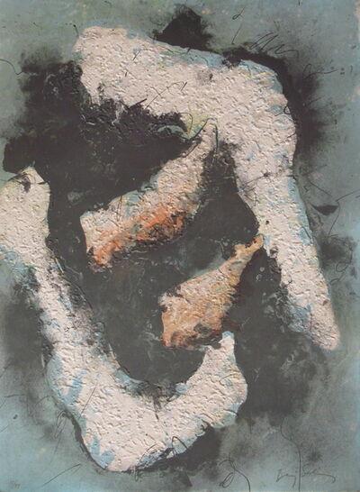 Baruj Salinas, 'Dalet in green', 1977