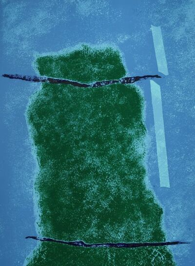 Theodoros Stamos, 'Untitled Infinity Field (blue)', 1922-1997