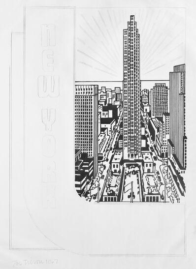 Joe Tilson, 'Joe Tilson, Study for Decal 3, pencil and Indian ink, 1967, signed ', 1967