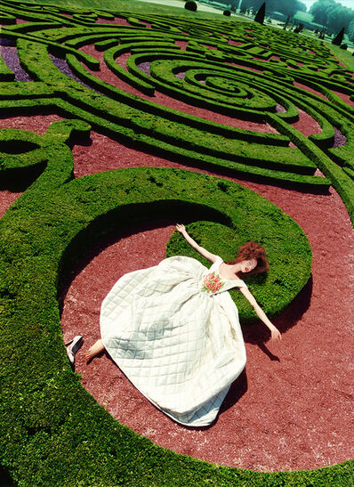 David LaChapelle, 'Collapse in a Garden', 1995