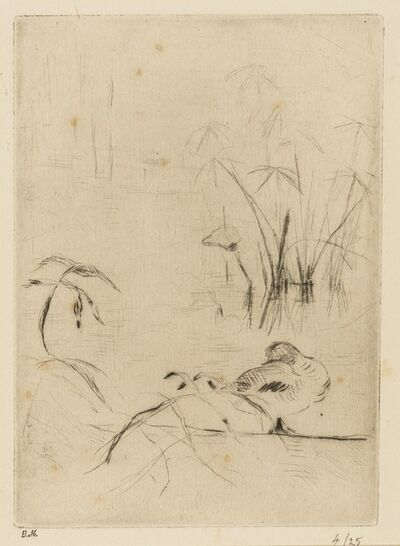 Berthe Morisot, 'Eaux-fortes originales (Lugt 388b)', 1885