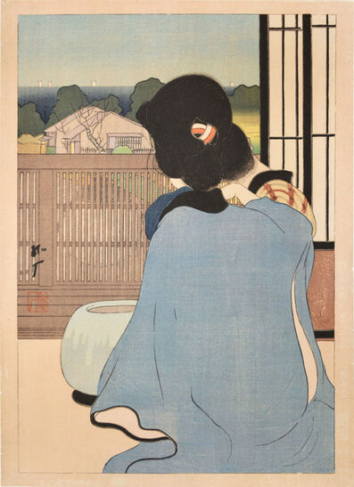 Kogan Tobari, 'Hot Spring Inn', 1921