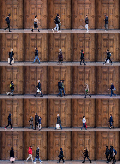 Xan Padron, 'Time Lapse, Bologna, Italy', 2017
