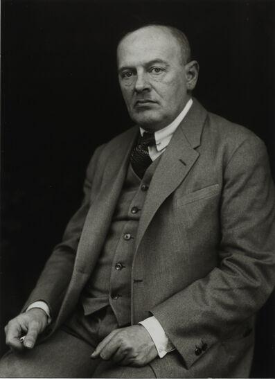 August Sander, 'Philosopher [Max Scheler], c. 1925'