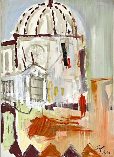 Frank Schult, 'Kirche im Süden', 2010