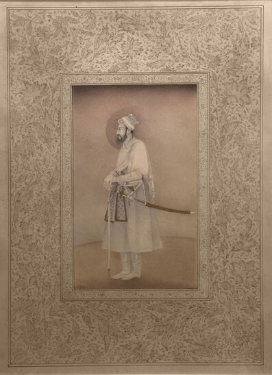 Shahzia Sikander, 'Miniature in Mughal Style: Imaginary Man', 1991-1992