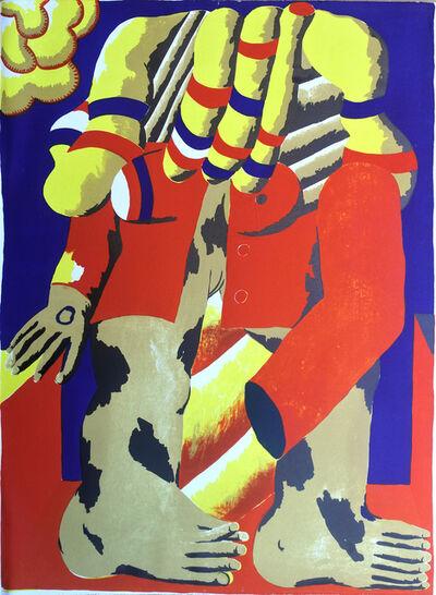 Horst Antes, 'Amsterdam', 1968