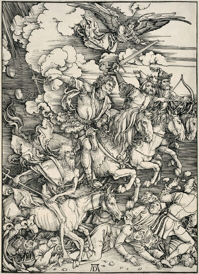 Albrecht Dürer, 'The Four Horsemen of the Apocalypse', 1498