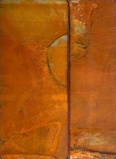 Nathan Slate Joseph, 'rust wall piece brown', ca. 2018