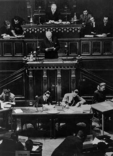 Yevgeny Khaldei, 'Paris Peace Conference', 1946