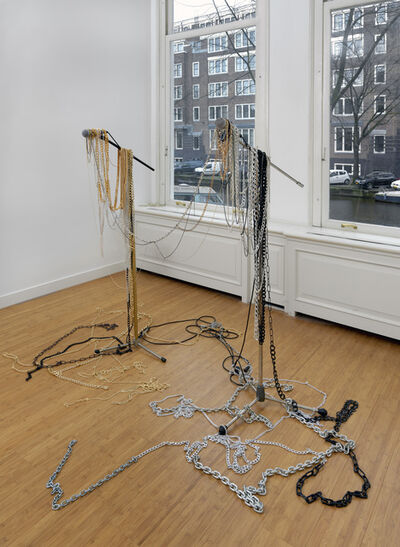 Pauline Boudry and Renate Lorenz, 'Microphone Sculpture (sym-poiesis)', 2020