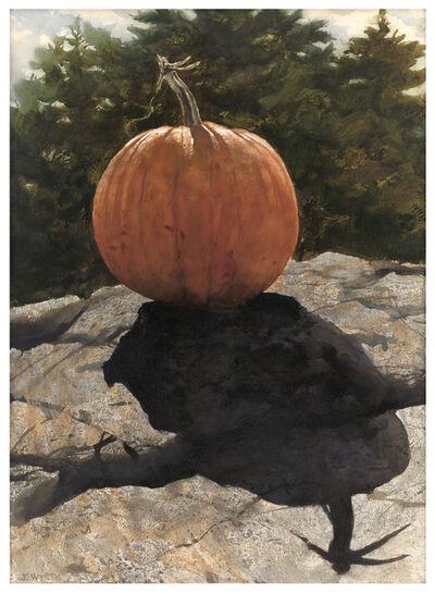Jamie Wyeth, 'Pumpkin Shadow', 1977
