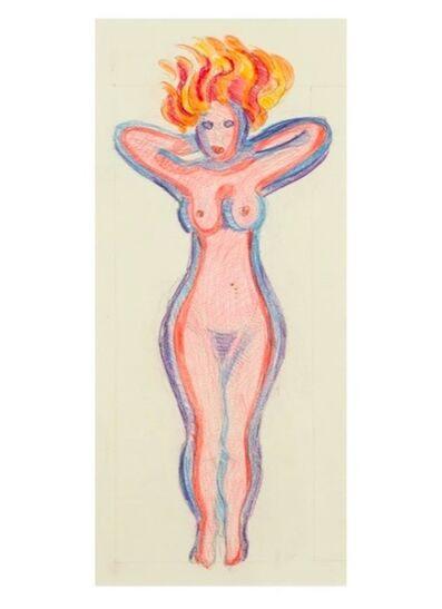 Joyce Wieland, 'Fire Muse', ca. 1980