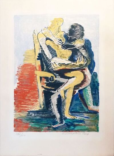 Ossip Zadkine, 'Les Amants ', 1964