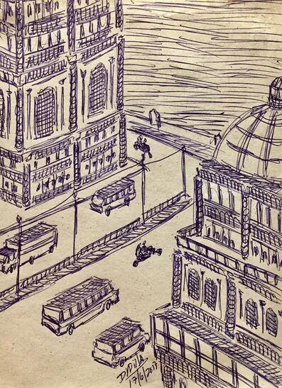 Damian Valdes Dilla, 'Cityscape No. 7', 2017