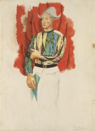 Pablo Picasso, 'Harlequin', ca. 1919-1920
