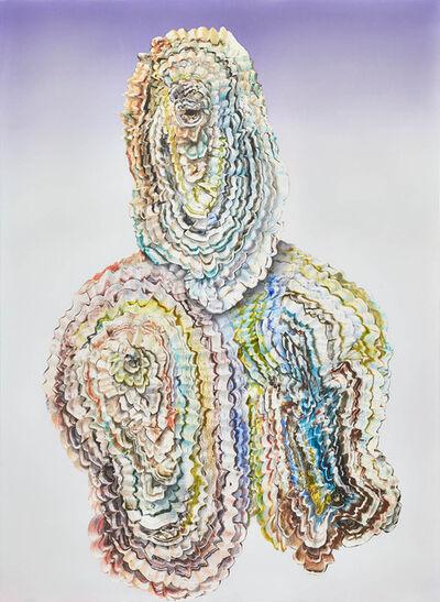 Benedikt Hipp, 'neonatal refractions No 30', 2018