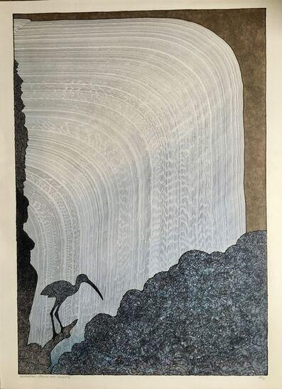 William Cummins, 'Waterfall, Crane and Goddess', 1993