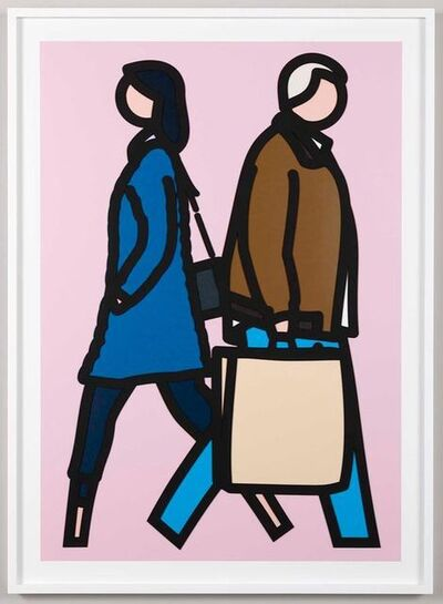 Julian Opie, 'New York Couple (3)', 2019