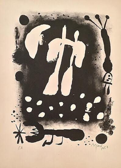 Joan Miró, 'Je travaille comme un jardinier', 1953