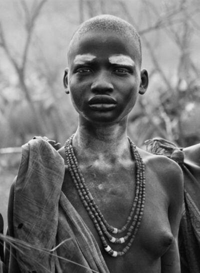 Sebastião Salgado, 'Genesis: Dinka Girl at Kolkuei Cattle Camp, Southern Sudan', 2006