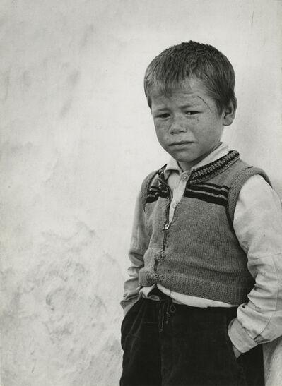 Ormond Gigli, 'Portuguese Boy, Portugal', 1952