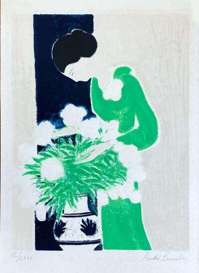 Andre Brasilier, 'Vert Indien', 1976