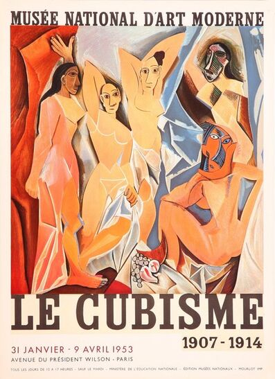 Pablo Picasso, 'Musee National D'Art Moderne, Le Cubisme', 1953