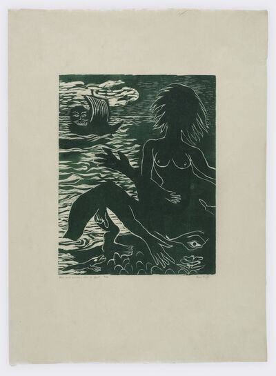 Ken Kiff, 'Man and Woman, Man in a Boat ', 1986