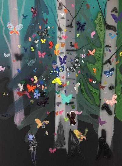 Kim Dorland, 'Swarm #2', 2016
