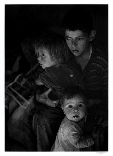 Ansel Adams, 'Trailer Camp Children, Richmond, California', 1944