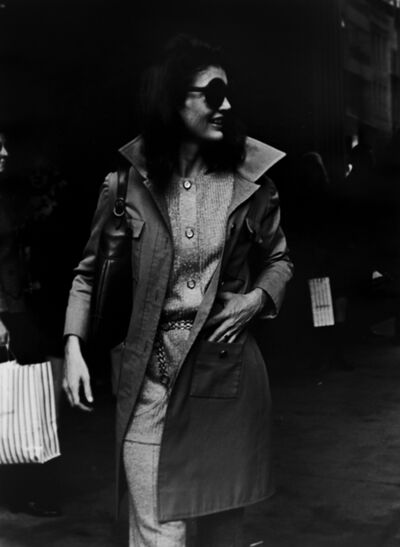Ron Galella, 'Jackie Onassis, October 15', 1970