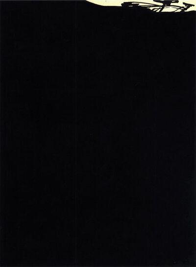 """Antonio Saura, '""""El perro de Goya""""', 1981"""