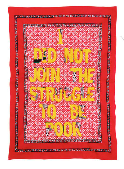 Lawrence Lemaoana, 'i did not join the struggle to be poor', 2015