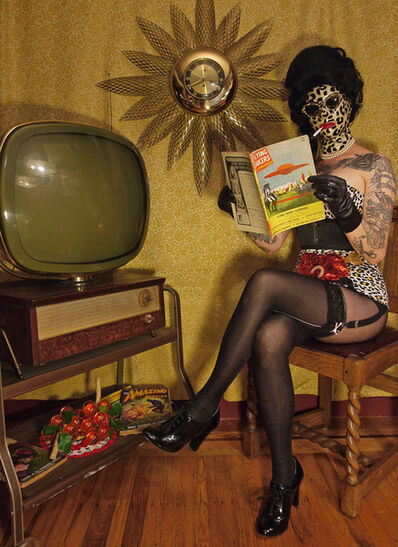 Kat Toronto (Miss Meatface), 'Flying Saucers', 2016